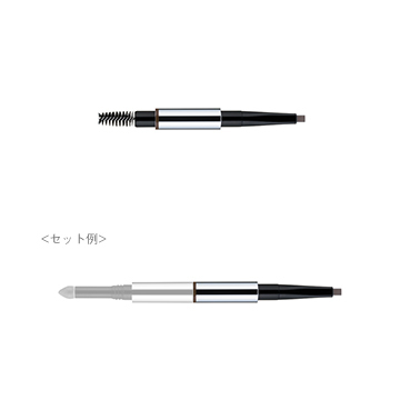 流行的粗眉♡畫法的要點② 熟練運用眼影刷和眉筆!