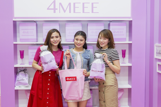 Pinkな世界に包まれた「4MEEE SELECT SHOP」3日間限定開催! in 宮崎♡