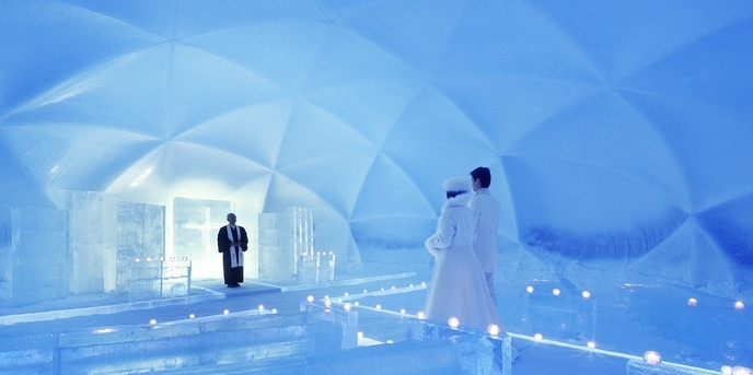 北海道-冰之教會♡