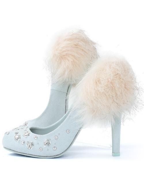 RANDA2015秋冬のおすすめ靴①▷「ビジュースキャターパンプス」