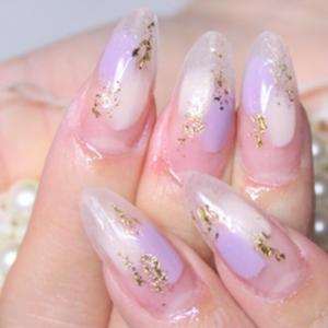 透明感が可愛いクリアネイルデザイン♪自爪をキレイに見せる効果もアリ
