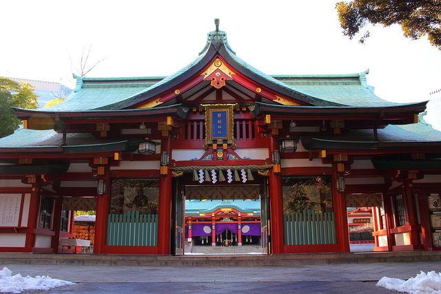 東京都內可以實現【不同的願望】神社② 求子・安產・斬爛桃花-日枝神社