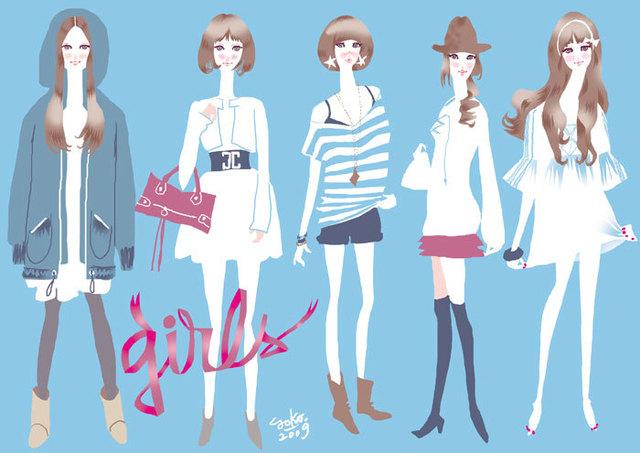 米澤よう子さんのファッションイラストの魅力