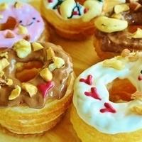 お家カフェ開店♡サクサク「クロワッサンドーナツ」のおすすめレシピ