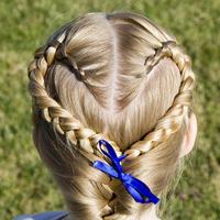 誰からも愛されるアレンジ♪「編み込みヘア」でもっと可愛く!