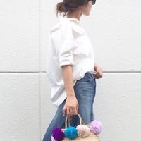 シンプルだけど、とってもおしゃれ♡白シャツのきれいめコーデ特集