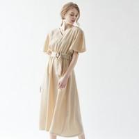 スタイルアップできるデート服♡ウエストマークワンピースをGET