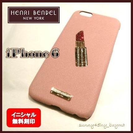 Henri Bendel(ヘンリベンデル)の可愛いスマホケース1♡レザーiPhoneケース♡