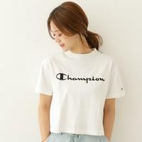 即席スポーツMIXが叶う♪ChampionのロゴTシャツコーデ