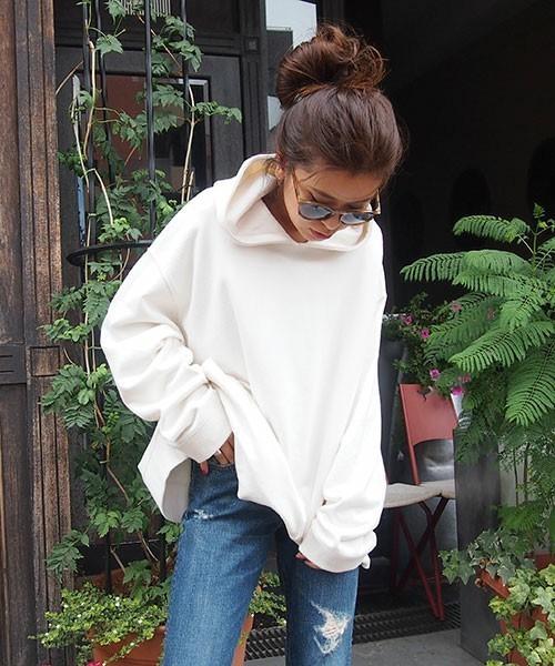 オルチャンファッション② スウェット生地