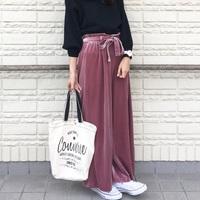 冬っぽ可愛い♡トレンドアイテム「ベロアワイドパンツ」を着こなせ!