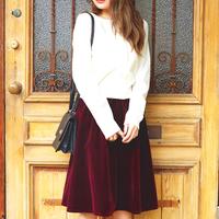 秋冬衣櫃必備色系♪用「勃艮第酒紅色」裙裝打造沈穩風格穿搭♡