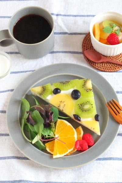 當早餐!水果單片三明治食譜② 食材擺設4重奏!