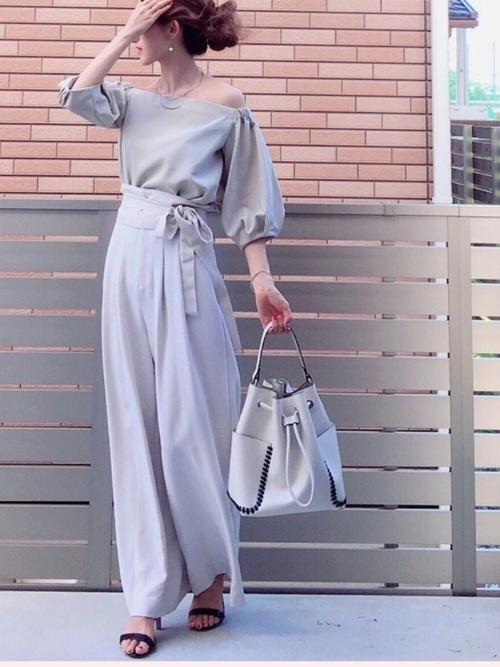 2015年秋冬ファッション♪トレンド④ワイドパンツ