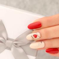バレンタインネイルは赤を味方に♡とびっきり可愛い私に変身せよ!