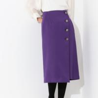 秋らしいパープルのスカート9選。コレ1枚で一気に上級者コーデに♪