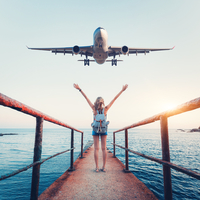 飛行機が怖い……なんて今更言えない!おすすめの克服方法10選♪