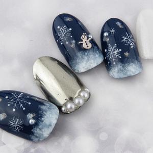 冬だからこそできる雪だるまネイル♪おすすめのデザインをご紹介!