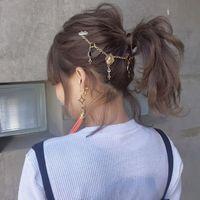 向日本妹學編髮♡讓一成不變的「馬尾」時尚感大・躍・升~♪