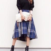 動くたびにひらひら揺れる♡フィッシュテールスカートのコーデ