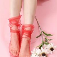 夏だって靴下履こうよ♪いつものコーデがパッと新鮮見えしちゃう。