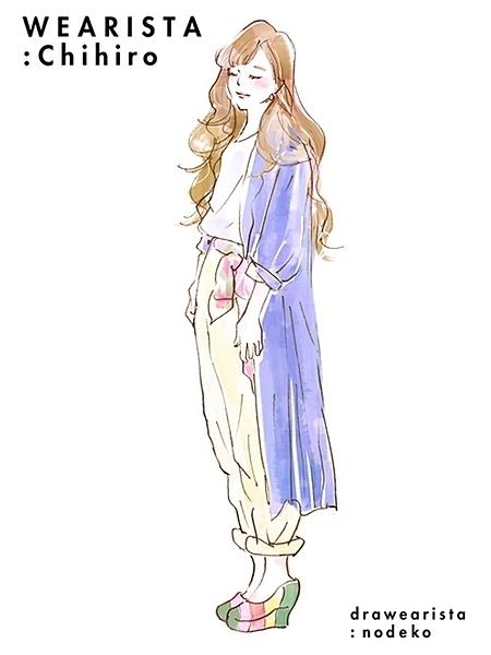 ファッションイラストが素敵♡「のでこさん」のイラストって?