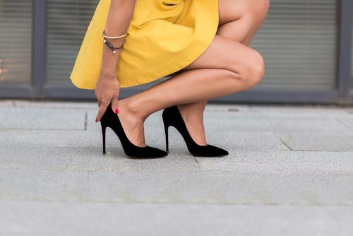 擁有一雙不會疲憊的鐵腿♡簡單的方法④ 「用腳尖站立」