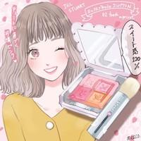 大人気♡JILL STUART Beauty「ミックスブラッシュ コンパクト N」