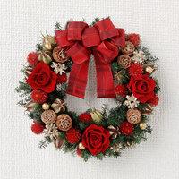 おしゃれなクリスマスリース10選♡街だけでなくお家もムード満点に