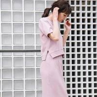 あざとくモテる注目アイテム♡大人可愛いピンクのセットアップ10選♪