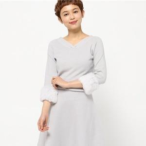 冬デートにもピッタリ♡こなれフェミニン「ニットワンピ」8選