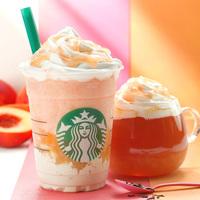 親子也能夠一起享用♪日本星巴克10月新品「蜜桃&紅茶」♡
