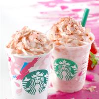 春天降臨星巴克☆2/15登場的新商品就是要滿滿草莓和櫻花♡
