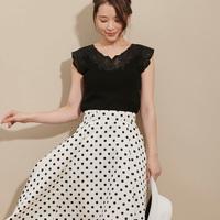 【2019春新作】白のドットスカート10選♡爽やかモノトーン♪